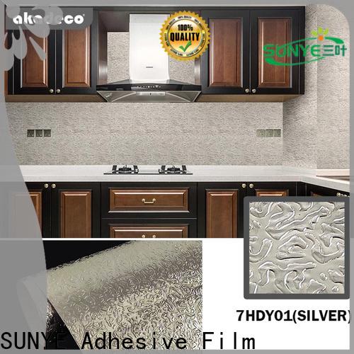 SUNYE metallic tile stickers factory for sale