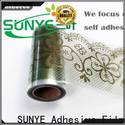 SUNYE self adhesive borders supplier for canteen