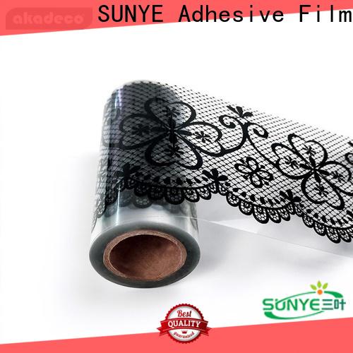 SUNYE self adhesive wall border company for canteen