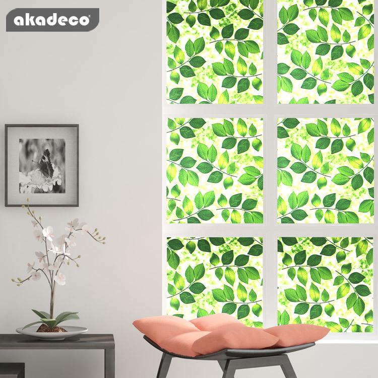 PVC window glass film for home decoration no glue left