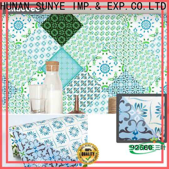 SUNYE top selling vinyl wall papers wholesale for refrigerator