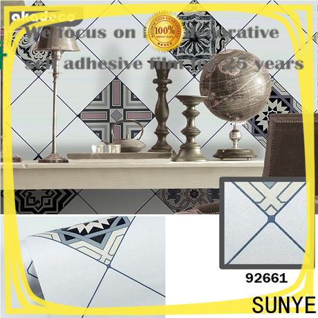 SUNYE high quality paper backed vinyl wallpaper manufacturer for sensor