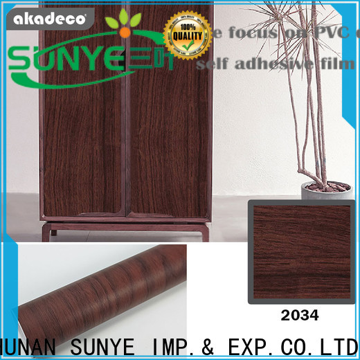 SUNYE adhesive film for wood wholesale for switch room