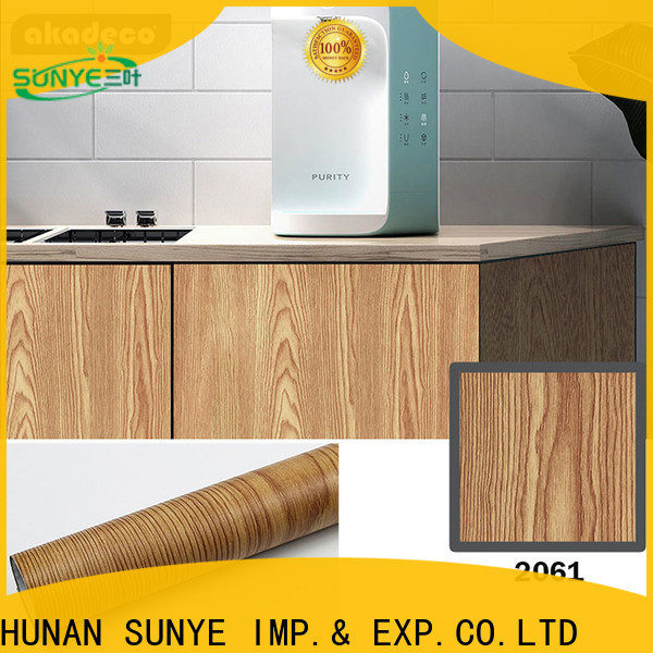 SUNYE high-quality self adhesive vinyl film manufacturer for switch room
