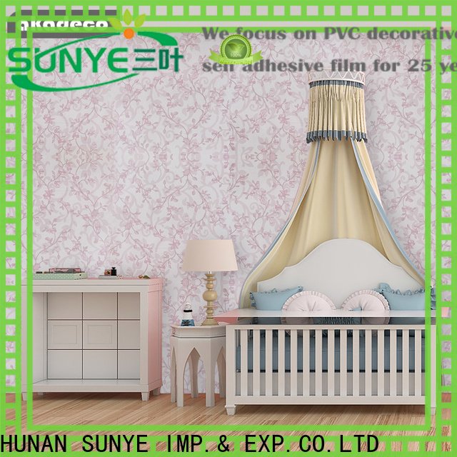SUNYE worldwide pvc wall covering series for photovoltaic
