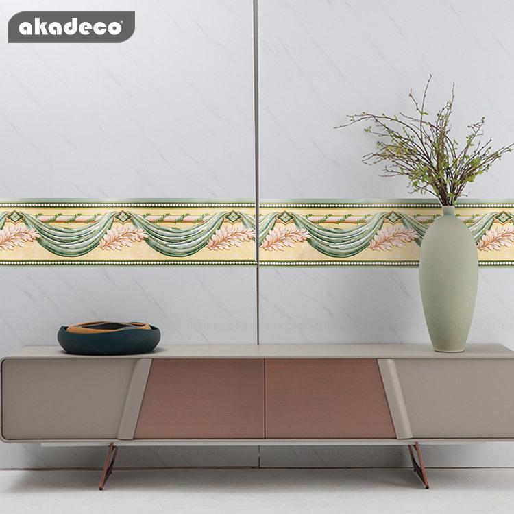 PVC border stickers for home decor popular design BD3201