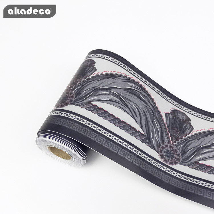 akadeco border stickertiles just peel and stick classic  10cm*10m*0.08mm