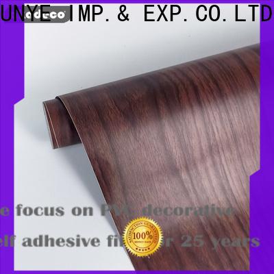 SUNYE wood effect vinyl wrap best supplier bulk production