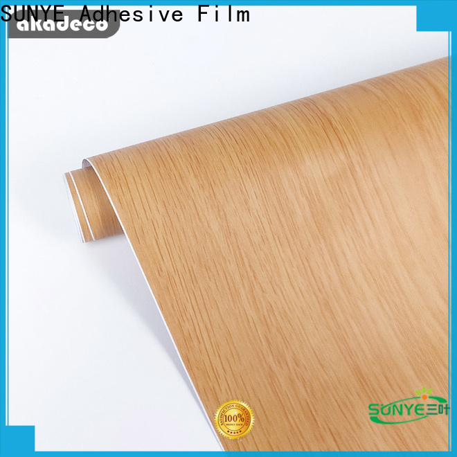 SUNYE contact paper wood grain manufacturer bulk buy