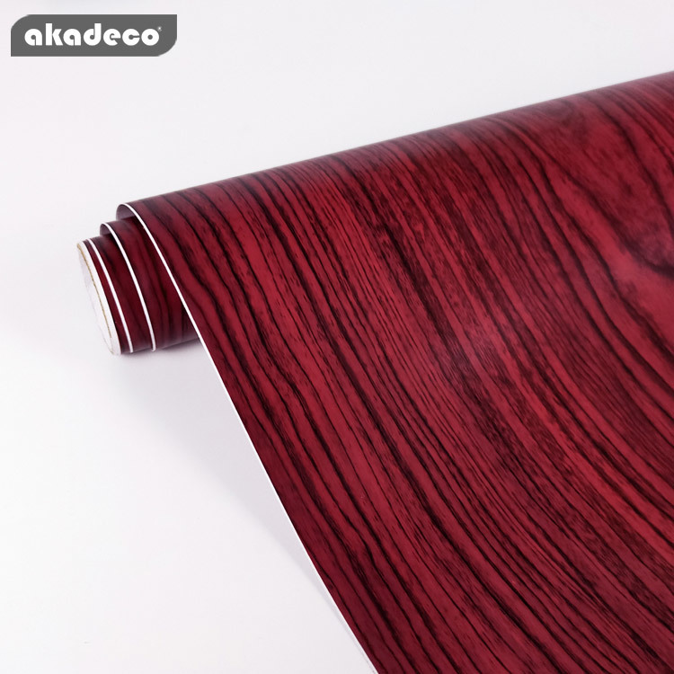 wood wallpaperfor walls hot selling waterproof for furniture decor