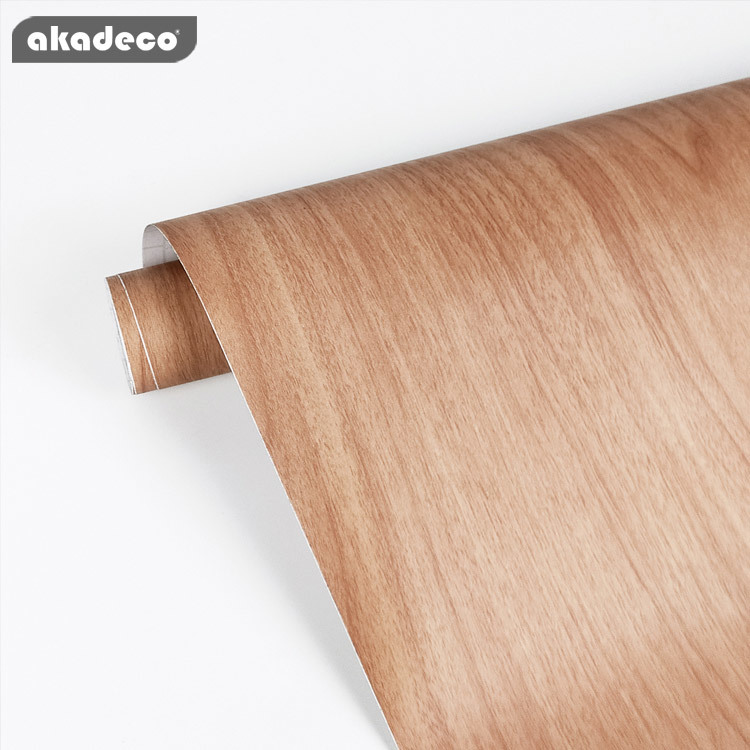 akadeco wood wallpaper decor best price waterproof for furniture and wall décoration