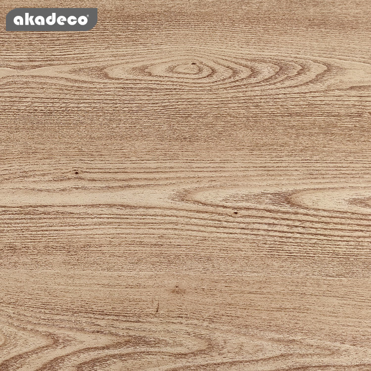 akadeco wood wallpaperfor bedroom  waterproof small size roll packaging PVC material