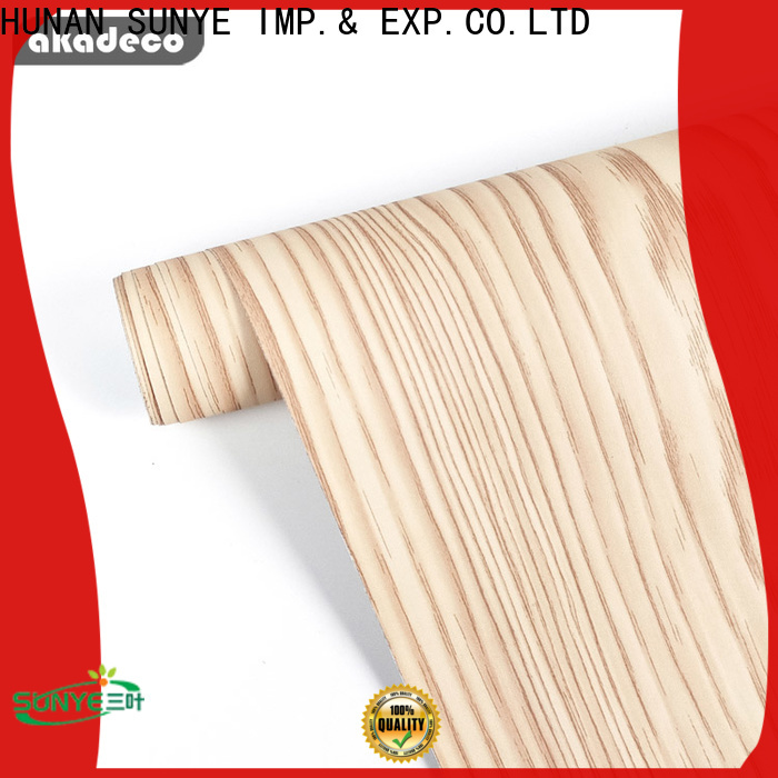 SUNYE best value pvc wood ceiling best supplier for secretary room