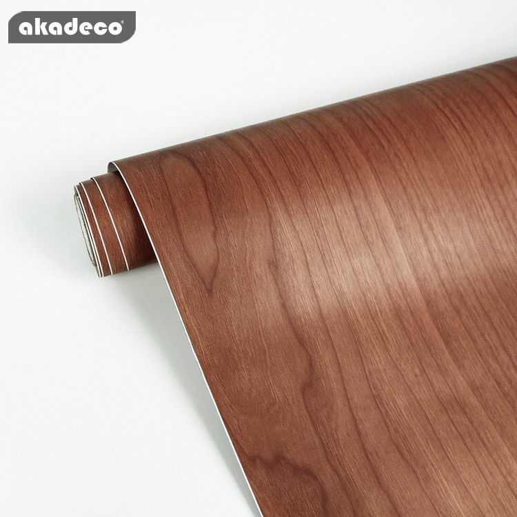 akadeco pvc film wood new design hot selling waterproof for home decoration A0014-1