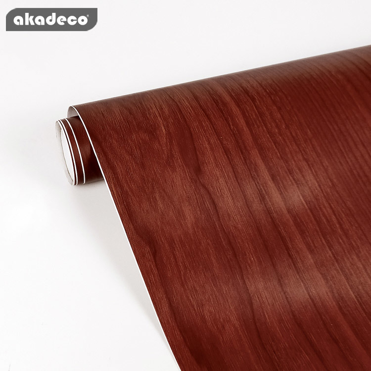 2020 new style akadeco wood grain film for furniture decoration