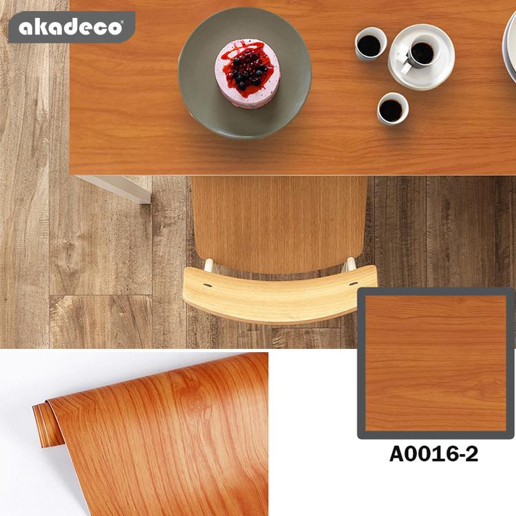 PVC wood film high quality classic design waterproof A0016-2