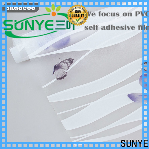 SUNYE quality self adhesive window film supplier for company