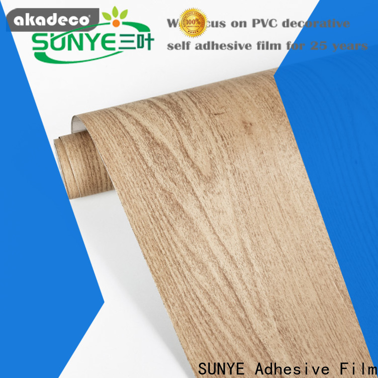 best self adhesive wood film factory for dining room