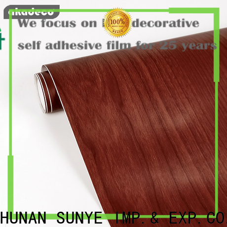 SUNYE factory price wood adhesive film company for dining room