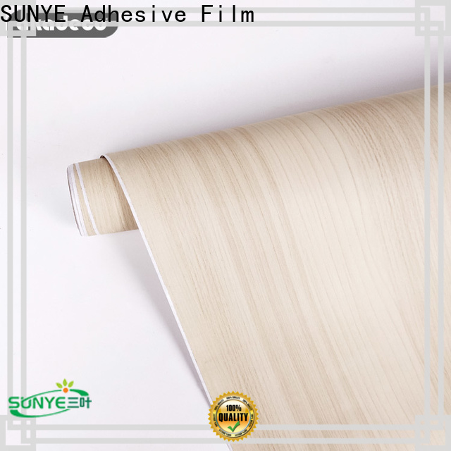 SUNYE best price pvc wood ceiling company for sale