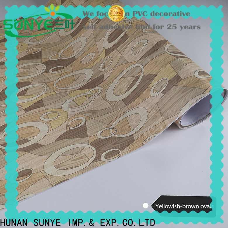 waterproof wood grain contact paper plank in-green workshop