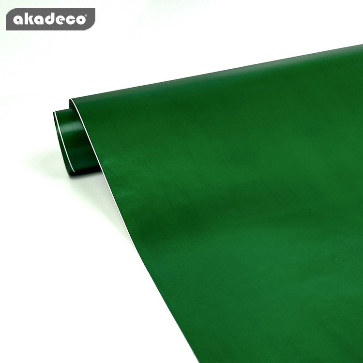 akadeco pvc film plain color new design hot selling waterproof for home decoration