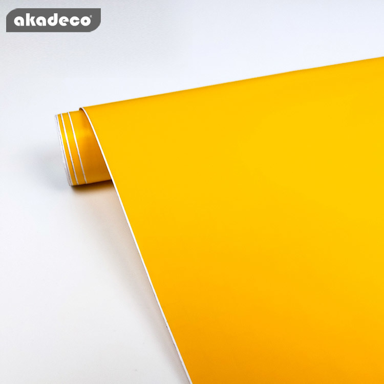 PVC solid color film high quality classic design waterproof 7004