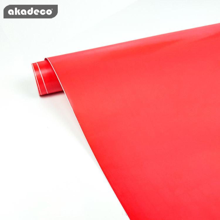 akadeco plain color film factory price high quality waterproof for interior decor 7007
