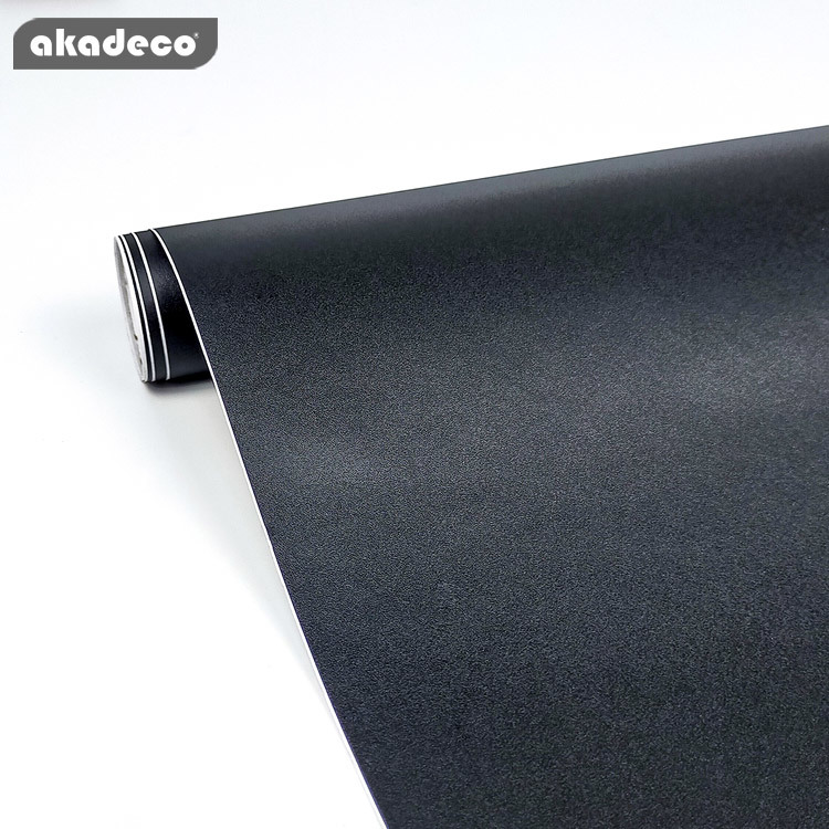 akadeco plain color self adhesive for wall classic brown color water-proof 7015