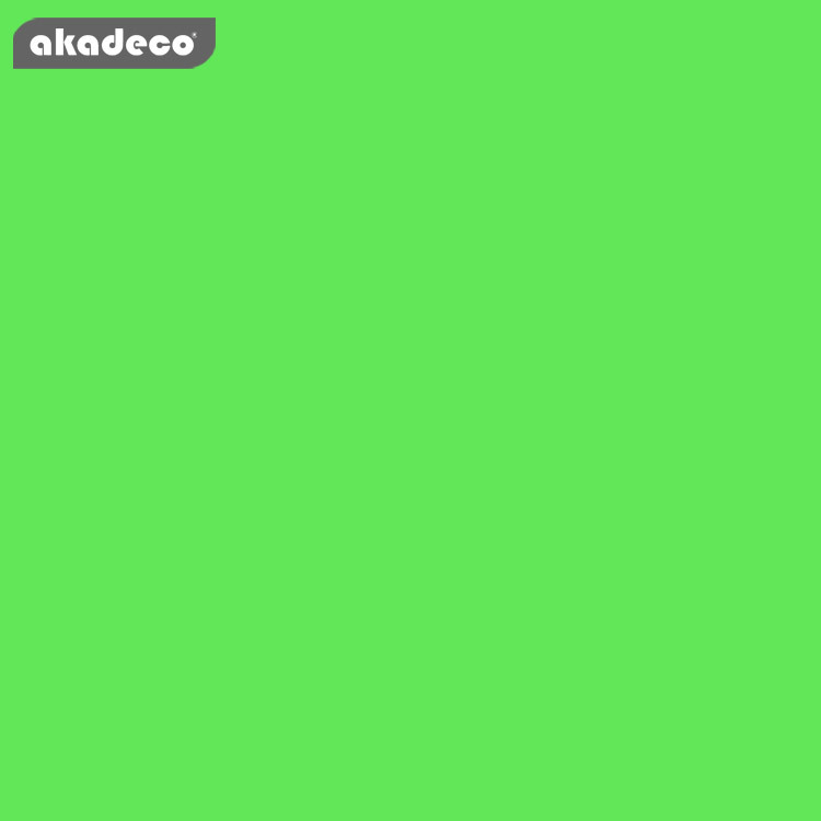 PVC adhesive film pure green color hot selling product for home decor 7025