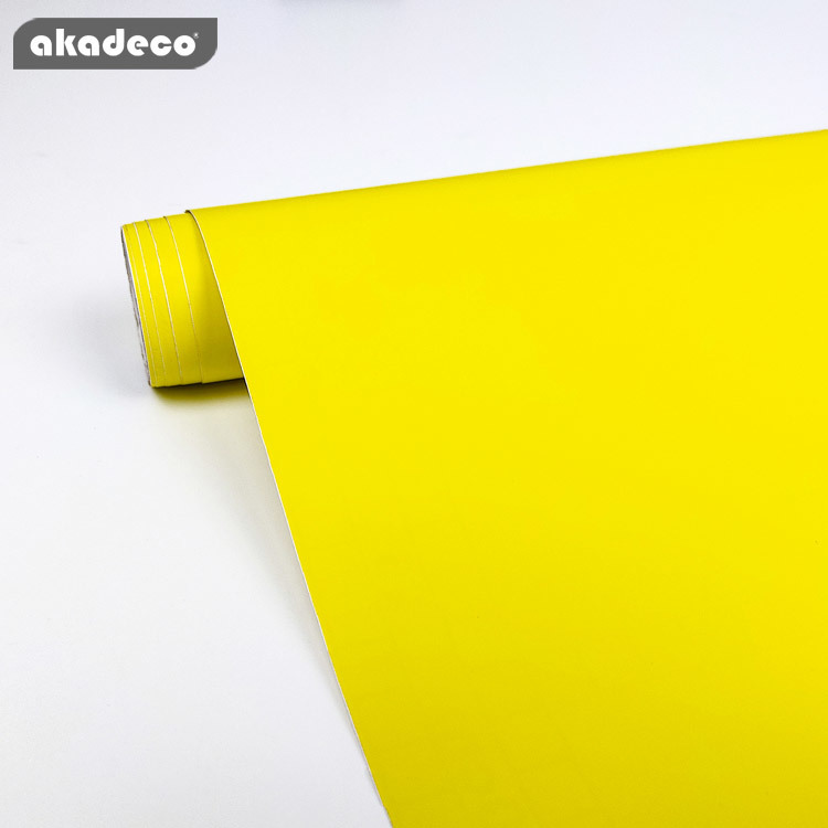 akadeco PVC plain color film for furniture decor water-proof moisture-proof 7026