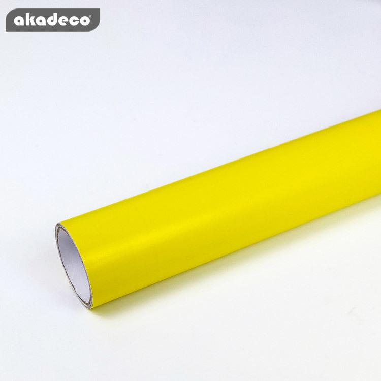 akadeco PVC plain color film for furniture decor water-proof moisture-proof 7026
