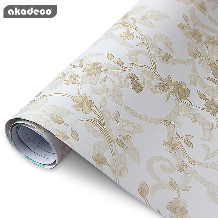 self adhesive wall decorative film  for bedrooms living room hot selling style 95031