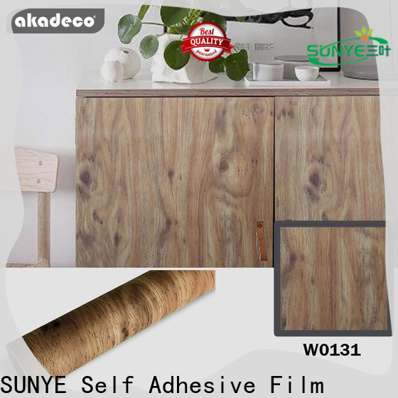 SUNYE wood looking contact paper from China for sale
