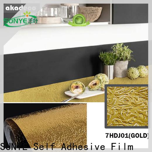 SUNYE metallic tile stickers series bulk production