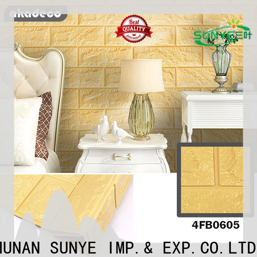 SUNYE soft foam tiles suppliers for canteen