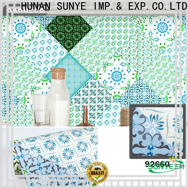 SUNYE top paper pvc factory for heating