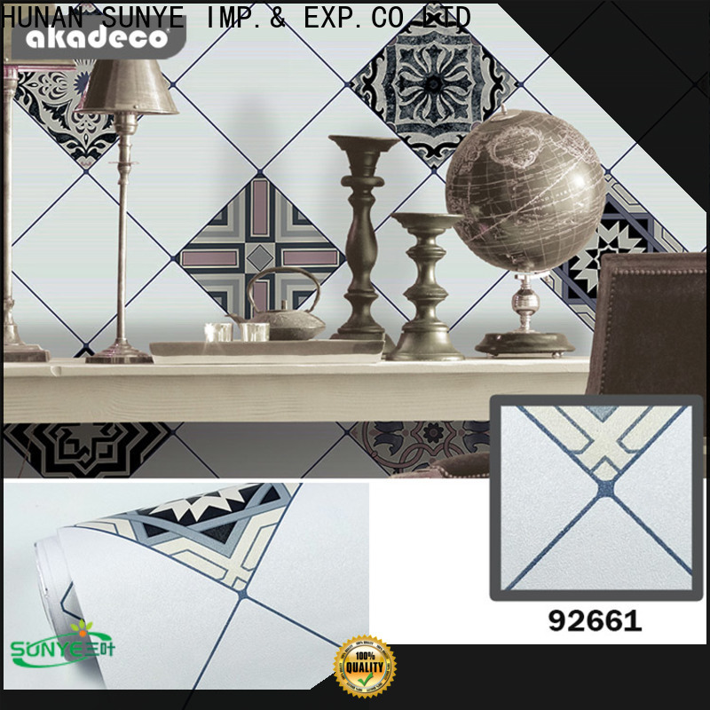 SUNYE wallpaper for room wall best manufacturer for factory