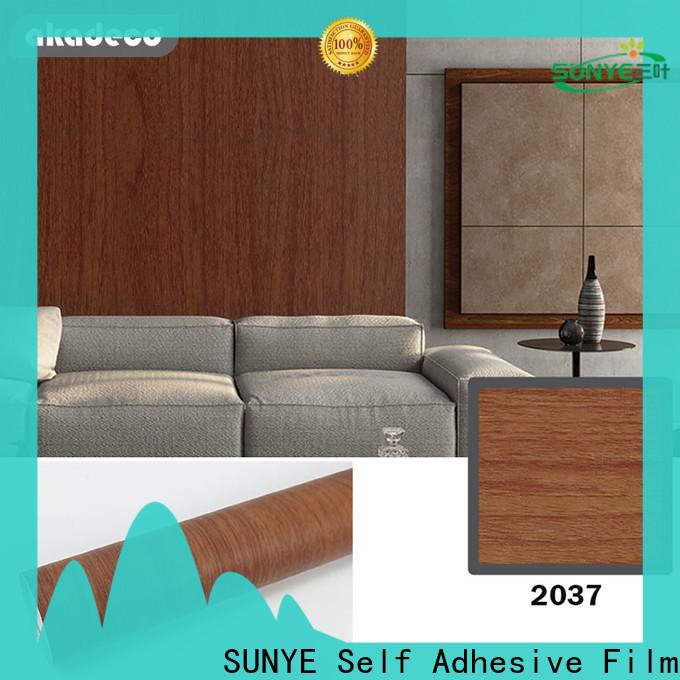 SUNYE wood self adhesive factory for sale