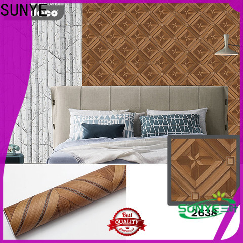 SUNYE latest self adhesive paper roll directly sale for dining room