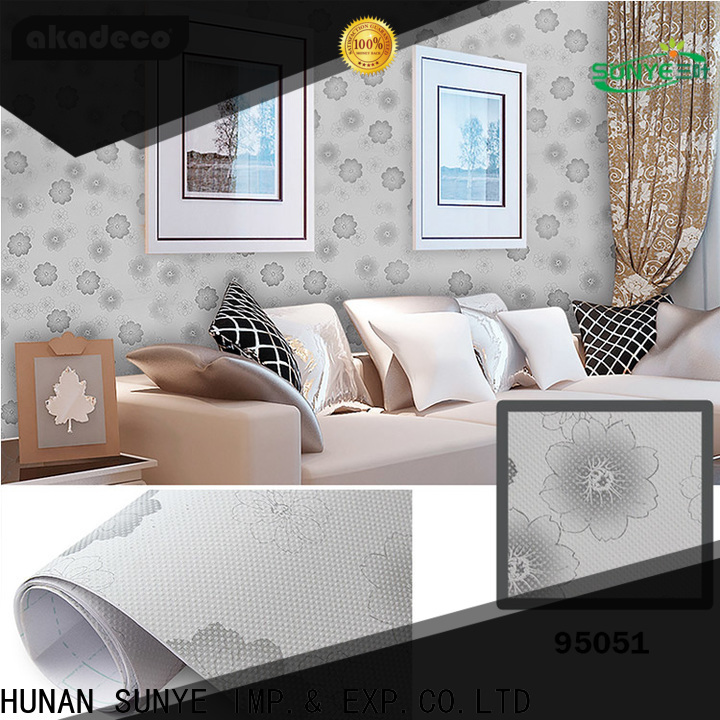 SUNYE wallpaper for bedroom walls factory direct supply for market