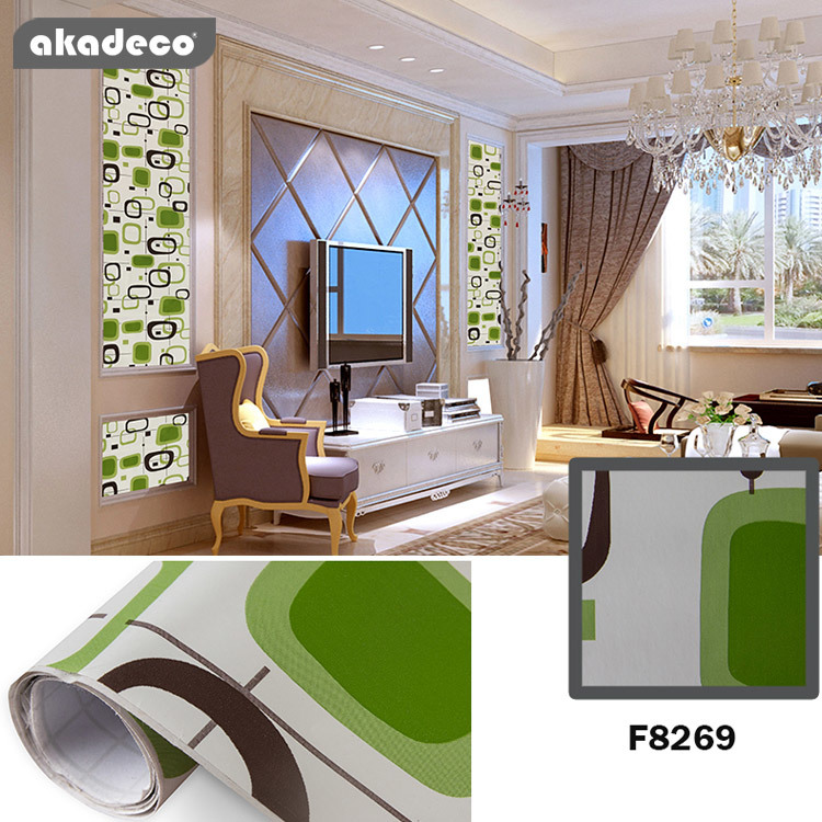 akadeco self adhesive wallpaper hot selling product for home decoration