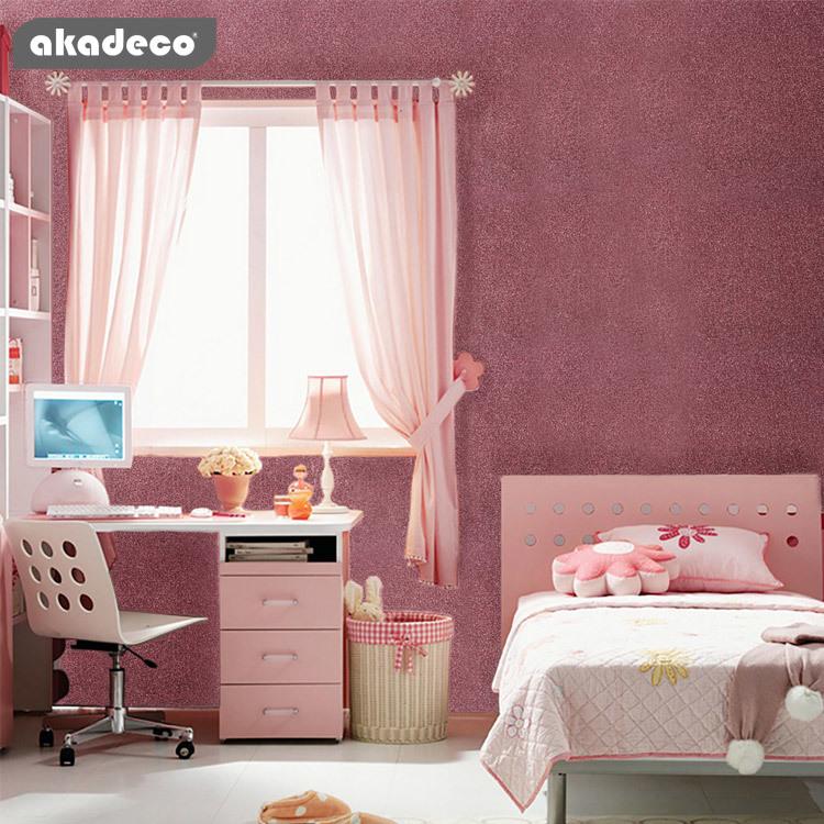 akadeco sprinkle glitter wallpaper vinyl sheets hot sell good quality fully stock