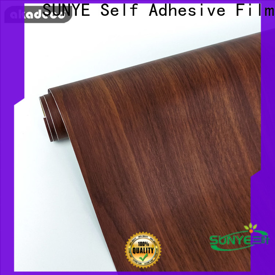 SUNYE top contact paper that looks like wood supplier for switch room