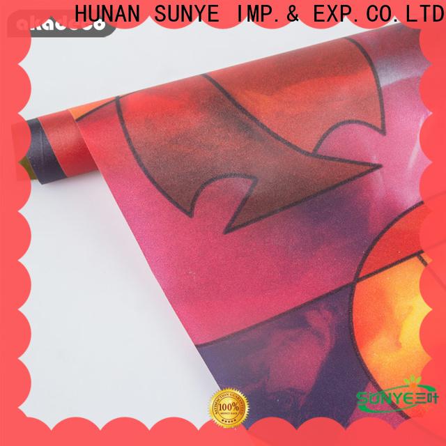 SUNYE quality vinyl window film manufacturer for hall