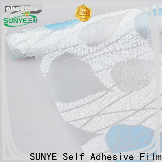 SUNYE window film adhesive factory for company
