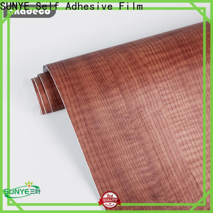SUNYE pvc wood look directly sale for workshop