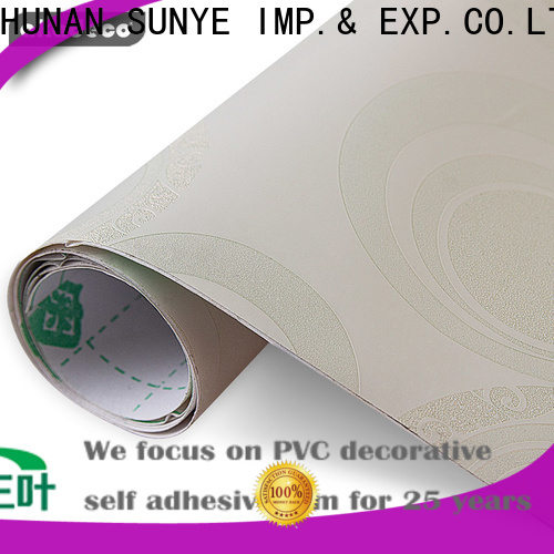 SUNYE high-quality pvc self adhesive wallpaper suppliers for sale