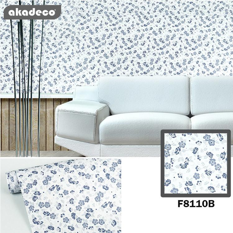 akadeco PVC printed wallpaper beautiful color water-ptoof F9110B