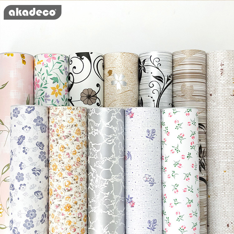 PVC printed flower decorative film hot selling new design film PVC water-proof